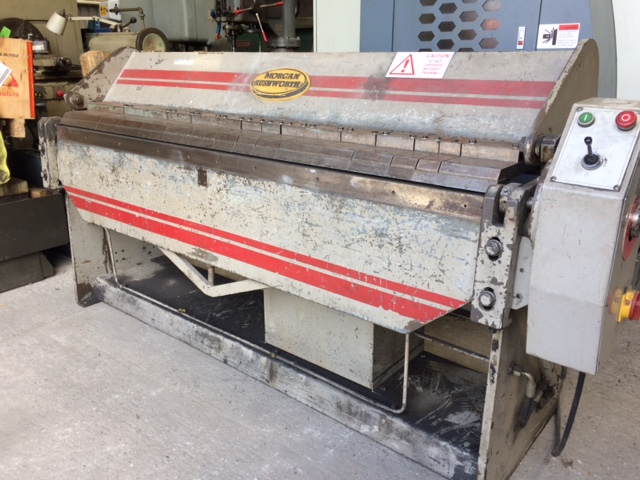 Morgan Rushworth 2m x 2.5 Hydraulic folder